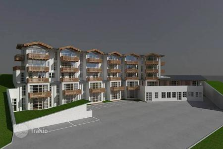 Cheap property for sale in Austria. One bedroom apartment with a balcony in a modern residential complex in the ski resort of Alpendorf, St Johann im Pongau