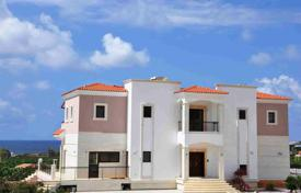 Residential from developers for sale in Cyprus. 5-bedroom, 5-bath luxury villa with title deeds at Sea Caves 400 m from the beach