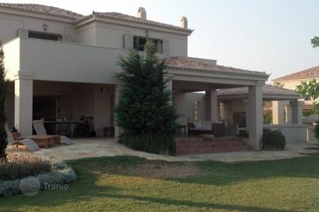 Coastal residential for rent in Greece. Villa – Porto Cheli, Administration of the Peloponnese, Western Greece and the Ionian Islands, Greece
