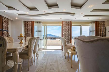 Apartments from developers for sale overseas. 3+1 Penthouse for sale Alanya Mahmutlar. Become the owner of a luxurious apartment with stunning sea view