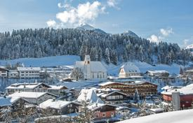 Property for sale in Tyrol. Chalet-townhouse in a superb tourist complex, at Alpine mountain skiing resort, Tyrol, Fieberbrunn. Investment income from 5% per year!