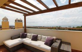 Penthouses for sale in Marbella. Five-room penthouse with panoramic sea views in Marbella, Andalusia, Spain
