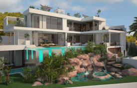 Off-plan houses with pools for sale in Southern Europe. Villa – Es Cubells, Ibiza, Balearic Islands, Spain