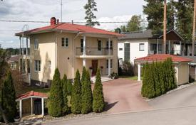 Residential for sale in Finland. Two-storey villa with two terraces, a garden and a sauna in Espoo, Finland