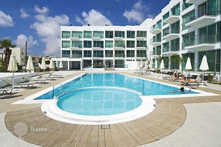 2 bedroom apartments for sale in Protaras. Two Bedroom Beach Front Apartment with Communal Pool
