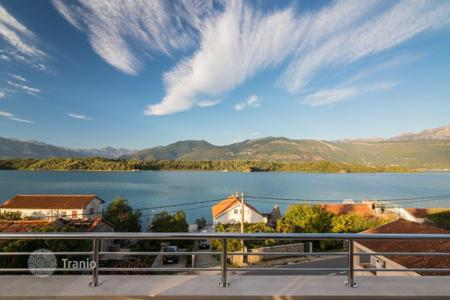 Property for sale in Tivat. Furnished apartments with open terraces and spectacular sea views in the village Krasici, Montenegro