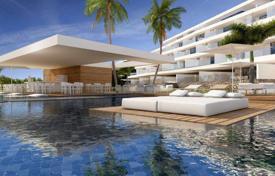 Apartments with pools for sale in Tenerife. Apartment of all types in a modern residential complex in La Caleta in Tenerife