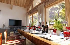 Residential for sale in Auvergne-Rhône-Alpes. Duplex penthouse with a balcony, in a new residence, close to ski lifts and slopes, Morzine, Alpes, France