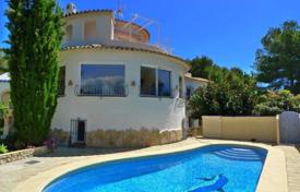 Property for sale in Fustera. Villa of 5 bedrooms with private pool, terrace and panoramic view in Benissa