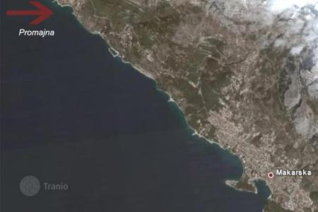 Coastal land for sale in Croatia. Development land - Makarska, Split-Dalmatia County, Croatia