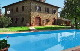 Stone two-storey house with a pool in Monte San Savino, Tuscany, Italy for 750,000 €