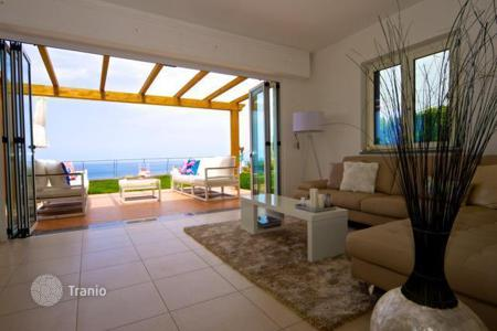 Off-plan houses with pools for sale in Europe. Villas in a new residence with pool and panoramic views of the sea and islands, on the territory included in the UNESCO list, in Calabria