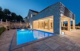 Two stylish villas with terraces, pools and well-maintained plots, near the beach, Hvar, Split-Dalmatia County, Croatia for 1,450,000 €