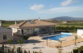 Property for sale in El Pinós. Villa with a large pool and a winter garden, Pinoso, Spain