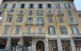 Coastal penthouses for sale in Italy. Furnished Apartment in an old building next to the subway, and Sempione Park, in the Brera district, in the center of Milan