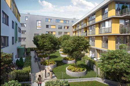 New homes for sale in Prague. Modern apartment in a new residential complex, close to the center, parks and boulevards, in the developing area of Žižkov, Prague — 3