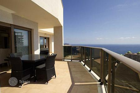 Coastal apartments for sale in Calpe. Penthouse with sea views in Calpe
