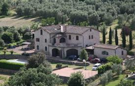 Three-storey stone villa with an olive grove in the suburbs of Siena, Tuscany, Italy for 1,400,000 €