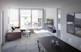 New homes for sale in Barcelona. New two-level apartment with a patio in Poblenou, Barcelona, Spain