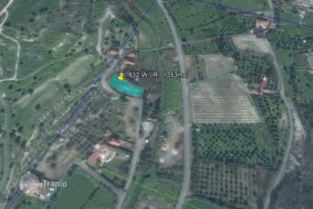 Cheap land for sale in Kalavasos. Building Land