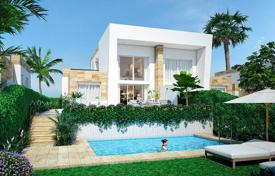 Townhouses for sale in Valencia. Semi-detached 3 bedroom villa with basement in La Finca Golf