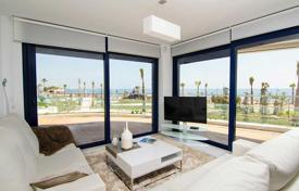 3 bedroom apartments for sale in Valencia. Apartment with sea views in a residential complex with swimming pools, tennis courts, saunas, a parking and a playground, Punta Prima, Spain
