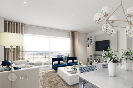 New homes for sale in Catalonia. Two bedroom apartment with a large terrace, in a modern residential complex with a rooftop panoramic swimming pool, Barcelona, Spain