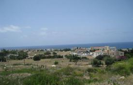 Coastal development land for sale in Paphos. 4 x Elevated Plots Overlooking Sea — Chlorakas