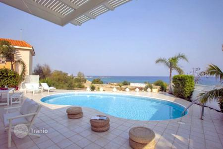 Luxury 4 bedroom houses for sale in Famagusta. Four Bedroom Beach Front Villa in Cape Greco