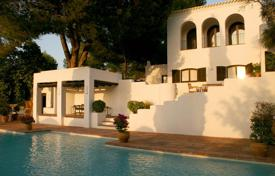 Villa in beautiful surroundings with a tennis court and two pools, San Rafael, Ibiza, Spain for 13,200 € per week