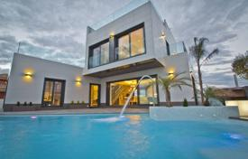 3 bedroom houses by the sea for sale in Costa Blanca. Luxury brand new villa near the sea in Orihuela Costa, Spain