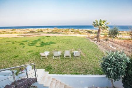 Villas and houses to rent in Famagusta. Beach Front, Stunning Sea Views, 5 Bedrooms, 6 Bathrooms This beautiful and elaborate 5 bedroom, 3 storey sea front villa is loca