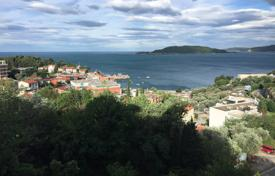 Furnished apartment with a terrace overlooking the sea, in houses with a pool and a parking, Przno, Montenegro for 150,000 €