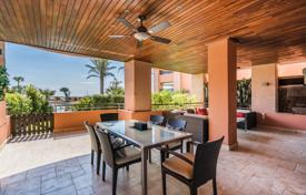 Magnificent garden level apartment by the sea, Puerto Banus, Andalusia, Spain for 1,590,000 €