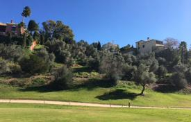 Cheap development land for sale in Spain. Superb Frontline Golf Plot in Mijas Golf, Mijas Costa