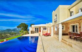 Residential to rent in Roca Llisa. New villa with a guest house and a swimming pool in Roca Llisa, Ibiza, Spain