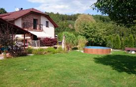 3 bedroom houses for sale in the Czech Republic. Furnished house with a garden, a swimming pool and a parking, near the lake, Sadov-Podlesí, Karlovy Vary region, Czech Republic