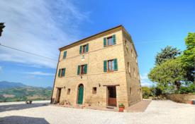 Property for sale in Marche. Comfortable house with a terrace and a garden next to Cupramontana, Italy