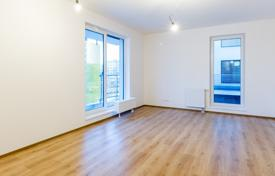 1 bedroom apartments for sale in Prague. Single room apartment with a balcony in a safe house near the park in the tenth district of Prague