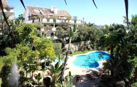 Furnished apartment with a terrace and a parking in a residential complex with a spa, Marbella, Spain for 650,000 €