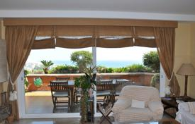 Apartments with pools by the sea for sale in Sitges. Two-levels duplex in Castelldefels, Spain. Property in a residence near the beach