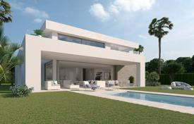 Modern villa with a plot, a swimming pool, a parking and a terrace in a new residential complex, Mijas, Spain for 750,000 €
