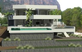 3 bedroom houses by the sea for sale in Calpe. Villa of 3 bedrooms in modern style with private pool and garden with diverse plants in Calpe