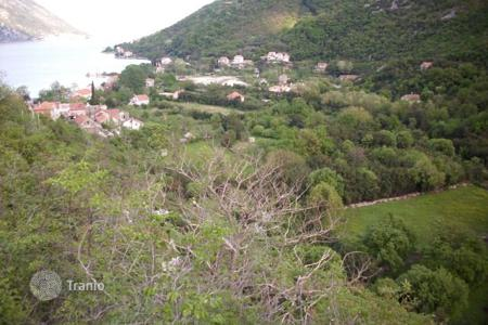 Coastal development land for sale in Morinj. Development land – Morinj, Herceg-Novi, Montenegro