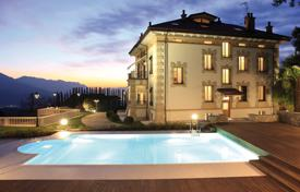 Houses with pools for sale in Lombardy. Villa – Luino, Lombardy, Italy