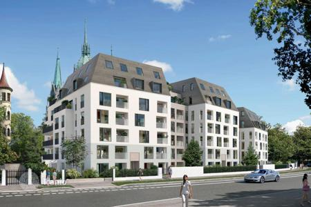 Apartment units for sale in Munich. Package of 5 apartments in a new building in the center of Munich, the district Ludwigsvorstadt-Isarvorstadt