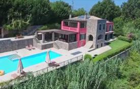 6 bedroom houses for sale in Administration of the Peloponnese, Western Greece and the Ionian Islands. Villa – Corfu, Administration of the Peloponnese, Western Greece and the Ionian Islands, Greece