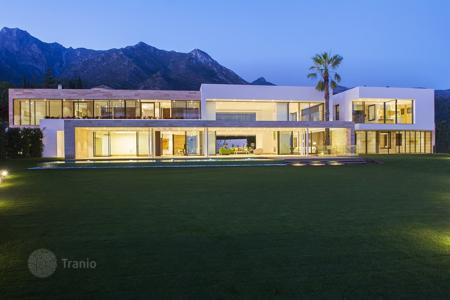6 bedroom houses for sale in Malaga. Outstanding Modernist Contemporary Villa in Sierra Blanca, Golden Mile, Marbella