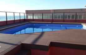 Apartments with pools by the sea for sale in Badalona. Spectacular apartment in the 1st sea line in the center of Badalona. Just at 10 km to center of Barcelona City