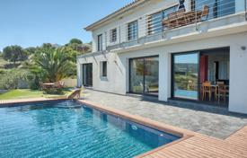5 bedroom houses for sale in Gerona (city). Modern villa with a pool and terraces, overlooking the sea, near the city center and the beach, El Port de la Selva, Spain